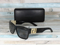 New Men's 4296 BLACK GRAY Polarized 59 mm Mens Sunglasses Designer Sunglasses Luxury Sunglasses Fashion Brand for mens woman Glasses