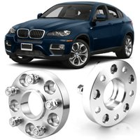 2pcs Wheel Spacers Centric Hub Adapters 5x4.7 74.1mm 14x1.5 Stud For BMW X6