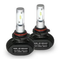 H1 S1 H4 H7 H11 9006 50000MW 2400000MCD 6000KホワイトLEDヘッドライト電球ペアHIDのためのFreeshipping Car Headlightsキット