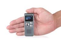 1PCS المهنية 8GB 16G تسجيل صوتي رقمي متعدد الوظائف البسيطة تسجيل الصوت القلم محرك فلاش القرص القلم MP3 USB الإملاء