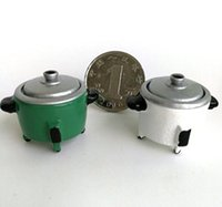 1:12 Boneca Boneca Acessórios Boneca Em Miniatura Acessório Mini Arrozeira Modelo