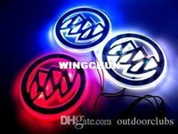 Buick LED Logo Light Car Badge Blue Red White 2D Auto Sticke...