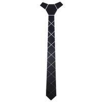 El yapımı Parlak Saten Siyah Kravat Akrilik Skinny İpek Kravatlar Bow Tie Biçimsel Suits Moda İş Gelinlik Gömlek Cravatte'ye