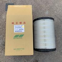 2pcs de envio gratuitos / lote 59031170 = 52322330/59031150 Hitach parafuso do filtro de ar do compressor de ar catridge elemento ar