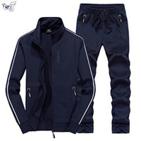 XIYOUNIAO Track Suit Men 6XL 7XL 8XL Winter Autumn Two Piece...