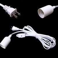 Cavo di alimentazione della lampada IQ da 3,5 m omologato UL con interruttore on / off e cavo E26 portalampada E 12 piedi
