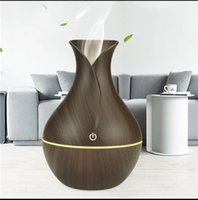 air humidifier Usb aroma diffuser mini wood grain ultrasonic...