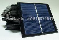 Freeshipping جودة عالية! مصغرة الخلايا الشمسية 1watt 5.5 لوحة للطاقة الشمسية وحدة الخلايا الشمسية الكريستالات 24pcs / lot بالجملة