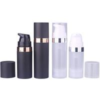 5 ml / 10 ml / 15 ml émulsion bouteille sous vide, airless bouteille pompe pompe lotion emballage rechargeable bouteilles expédition rapide F3202