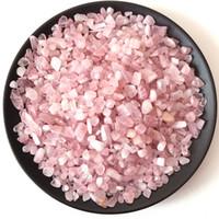 100 Gramm Natural Rock Quarz Mineral Chips Stein fiel Stein Haus Brunnen Dekor Kristall Heilung Reik