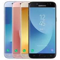 Оригинальный отремонтированы Samsung Галактики J5, в нашей стране Про 2017 J530F 5.2 дюймов Octa ядро 16 Гб ROM 13МП 3000мАч 4G смартфон на Андроид сотовый телефон Бесплатная доставка DHL 10шт