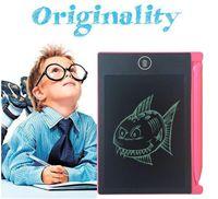 LCD 태블릿 디지털 디지털 휴대용 4.4 인치 드로잉 태블릿 필기 패드 어린이 성인을위한 전자 태블릿 보드