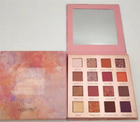 Новый макияж HUDAPRO FOCALLURE TTX 16 Colours Sunrise Палитра теней для век Shimmer матовые тени для век Make up Desert Rose импрессионизм Косметика