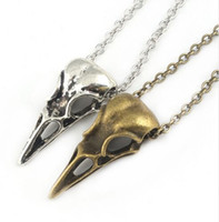 3D Skull Bird Head Necklace charms Pendant Jewelry for Women...