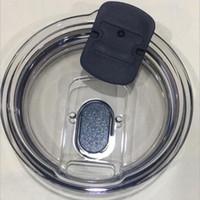 plástico atacado leakproof tampa magnética para 30 onças 20 onças de aço inoxidável copo grande capacidade de vazamento de prova de xícara reciclável tampa