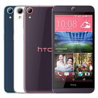 Original HTC Recuperado Desejo 826 826W Dual SIM 5.5 polegadas Octa Núcleo 2GB RAM 16GB 10pcs ROM 13MP Desbloqueado 4G LTE Android Mobile Phone DHL