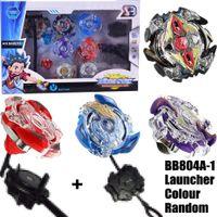 Bayblade neue 4 STÜCKE Boxed Bayblade Beyblade Burst 4D Set Mit Launcher Arena Metall Kampf Schlacht Fusion Classic Toys Original Box