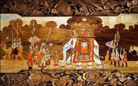8D Papel Mural 3d Wal 3d Wallpaper Murales Murales de papel de pared 3D para el fondo del sofá del dormitorio
