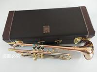 Бах LT197GS-77 B плоская труба Бронза Фосфор меди инструмент профессионала Новая труба Свободная перевозка груза