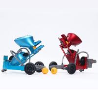 TL K6 RC تنس الطاولة، بينغ بونغ روبوت اللعب، DIY الذكي التقاط إطلاق الكرة، سبائك مادة، اللعب المتعدد، لعيد الميلاد هدية عيد ميلاد طفل