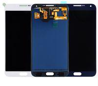 Samsung Galaxy E7 Için 100% Süper AMOLED LCD E700 E700F E7000 E7009 LCDS Ekran Dokunmatik Ekran Digitizer Meclisi Değiştirme
