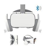 Z6 VR 3D Lunettes Casques Bluetooth Virtual Virtual Reality Lunettes Jeu Cinema Sans fil VR Casque IMAX pour téléphones mobiles