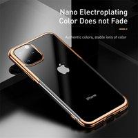 Baseus lusso cassa del silicone per iphonePhone 11 Pro di caso per iphonePhone 11 Pro MAX Phone Case protettiva Coque copertina