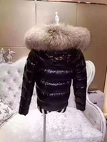 Hooded Clothing Down Jacket Women Fur Parka Women Fashion Fu...