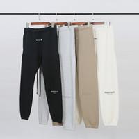 TANRI SİS Essentials Marka Tasarımcı Üst Kalite Erkekler Pantolon KORKUSU Moda Sweatpants Günlük Koşucular 6612