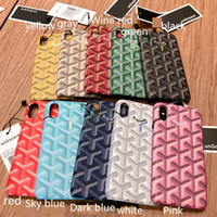 Phone Cases Luxury Fashion GY Leather Hard Cases For iphone ...