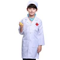 0e1db19e2ede8 Wholesale doctor nurse costume online - 90 Cm Children Doctor Enfant  Pretend Play Toys Nurse Professional