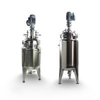 Aço inoxidável personalizado camada ZOIBKD 80L Duplo Não-padrão A mistura de aço inoxidável tanque Chemical Reactor de aço inoxidável selado tanque