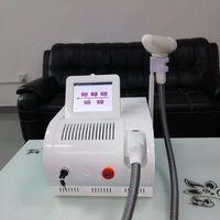 Nouveau style Q Commutateur Nd Yag laser rousseur Sourcils Suppression 532nm 1064nm 1320 nm de tatouage laser portable Retrait