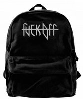 Fuck Off Canvas Shoulder Backpack Best Backpack For Men & Wo...