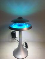 Sospensione magnetica Levitating Lampada da tavolo LED con altoparlante UFO Bluetooth surround suono BT Speaker Regali creativi Luci notturne LLFA
