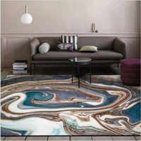 AOVOLL 현대 추상 대형 부드러운 카펫 침실 러그 홈 거실 부엌 매트의 경우 바닥 면적 매트 홈 인테리어
