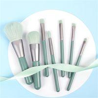 7pcs Per Set Foundaton Makeup Brush maquiagem In 3 Colors Make Up Brushes Set brocha de maquillaje