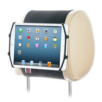 TFY Car Headrest Mount Silicon Holder for Tablet iPad Mini 4...