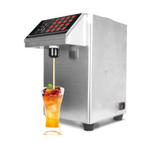 Distributeur automatique en acier inoxydable Fructose, distributeur de sirop machine, Fructose machine quantitative, équipement Bubble Tea, 9L