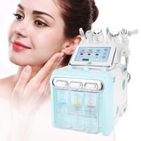 La nueva actualización de 6 en 1 Oxígeno H2O2 Agua piel Jet Peel Hydra Belleza Limpiadora Hydra dermoabrasión facial agua de la máquina Peeling