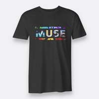 Muse Alternative Rock Style Tees Black T- shirt For Men'...