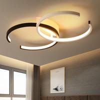 Modern LED Plafoniere Lampadari Lampadario Lustro per soggiorno Camera da letto Studio Casa Home Deco C Chandeliers moda creativo Lampadari Light 110V-220V