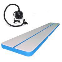 الأزرق نفخ الهواء الطابق ل Sle DWF نفخ الهواء المسار حصيرة للجمباز الرئيسية استخدام الهواء تراجع حصيرة