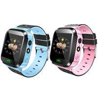 Горячие смарт-часы Kids Q528 сенсорный экран LBS Tracker Watch Anti-lost детские наручные часы SOS Call для Android IOS с удаленной камерой