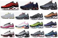 TN oltre 2020 nuovo progettista Mens KPU Mesh traspirante Chaussures Homme tn scarpe sportive Requin Noir scarpe da corsa Super size eur 40-47