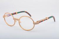 2019 frete grátis cor natural óculos templo de madeira 7.550.178 de alta qualidade óculos de sol full frame óculos de diamante moldura de tamanho 55 -22-135mm