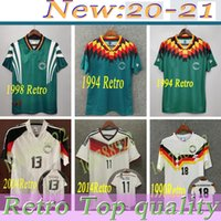 World cup 1990 1998 1988 Germany Retro Littbarski BALLACK Soccer Jersey KLINSMANN Matthias 2006 2014 shirts KALKBRENNER JERSEY 1996 2004