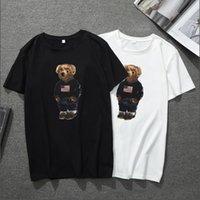 Verão Mens Dos Desenhos Animados Camisetas Moda Tripulação Pescoço de Manga Curta Camisa Clássica T Casual Solto Impresso Masculino Tees