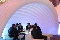 Индивидуальные реклама надувные палатки белый надувной купольный палатка для вечеринки и даже или украшения свадьбы