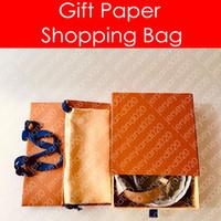 INITIALES 40MM 30MM CEINTURE RÉVERSIBLE en papier cadeau cadeau M9608W Designer mode sac à provisions sac à poussière boîte boucle toile ceinture en cuir